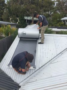 solar hot water bilgola