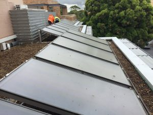 commercial solar hot water northern beaches