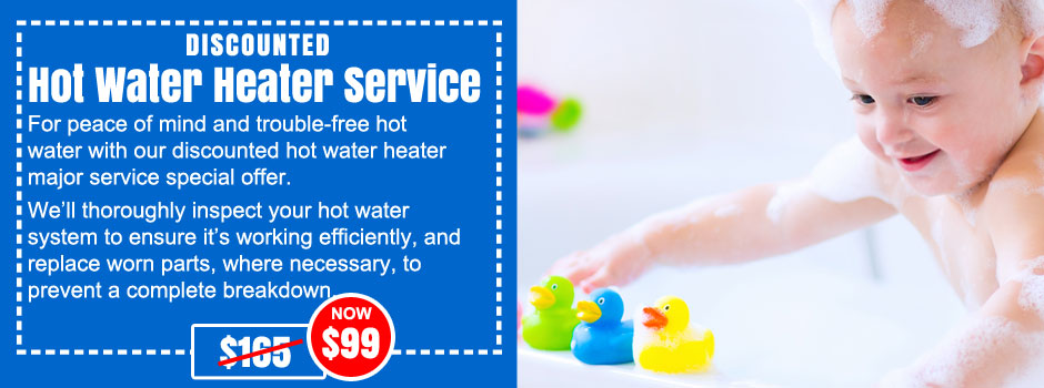 hot water system service northern beaches