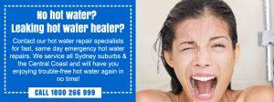 emergency hot water heater repairs northern beaches